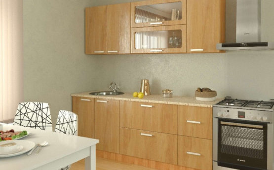 Кухня Лилия из МДФ ПВХ