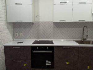 Кухни с фасадами пластик