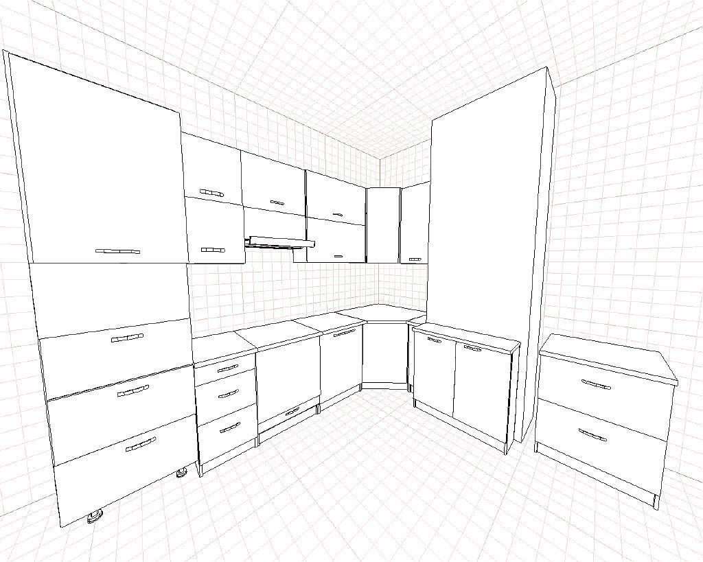 Разработка проекта кухни
