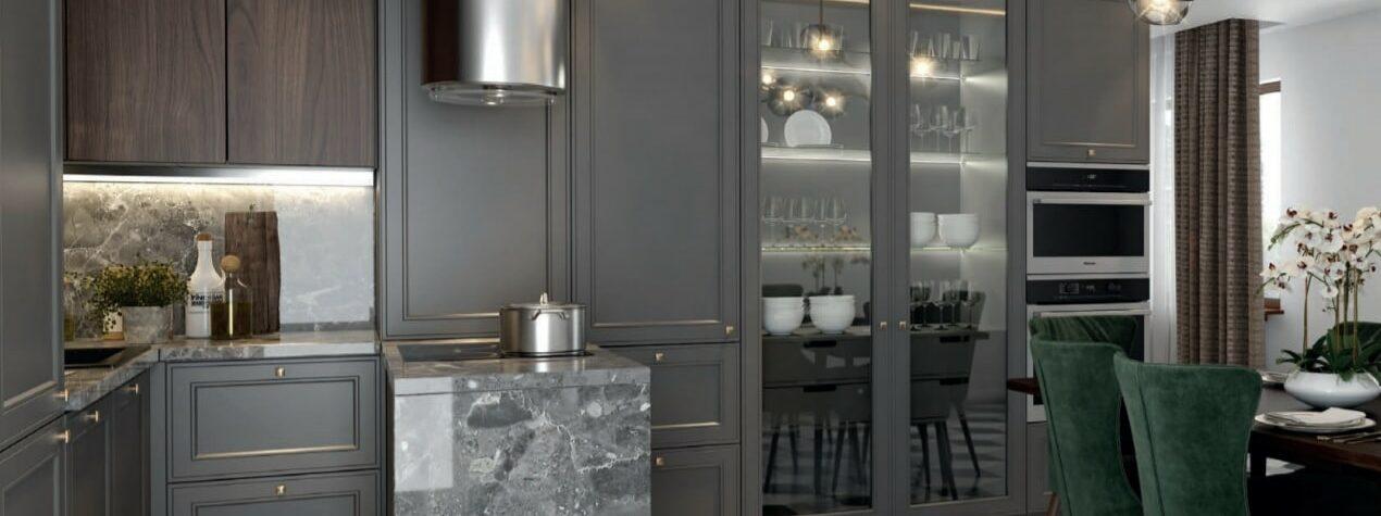 Кухня Адажио эмаль