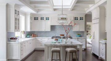 Антресоли на кухне под потолок